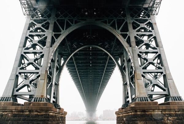 Cầu xây dựng bằng thép tiền chế