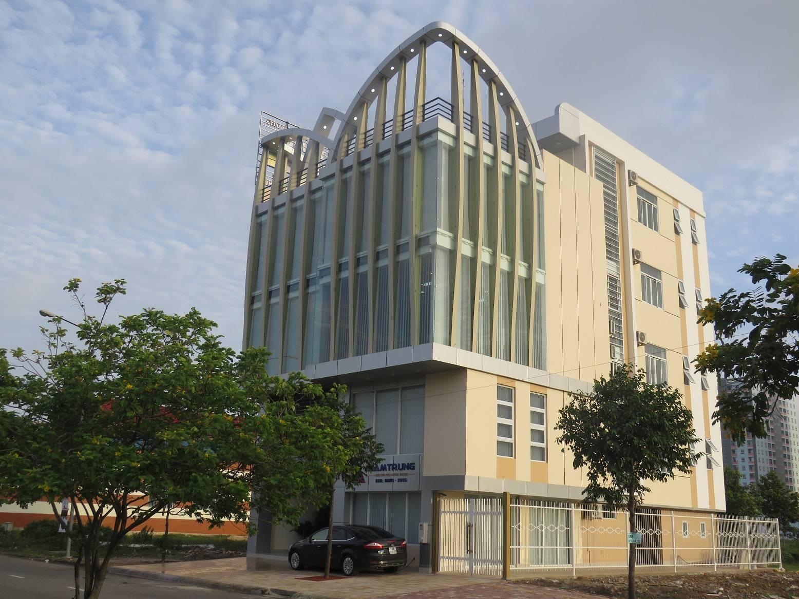 Văn phòng thép tiền chế công ty kết cấu thép Nam Trung