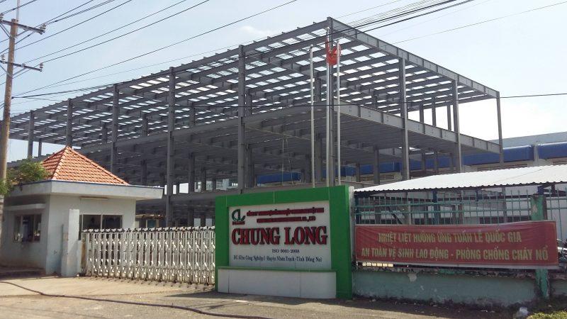 Nhà xưởng công nghiệp Chung Long