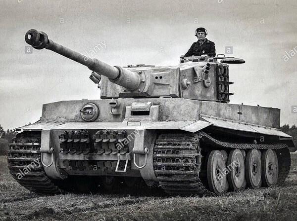 Vỏ xe tăng Tiger được chế tạo từ thép cường độ cao