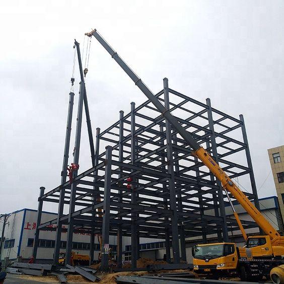 Xây dựng nhà thép tiền chế 4 tầng