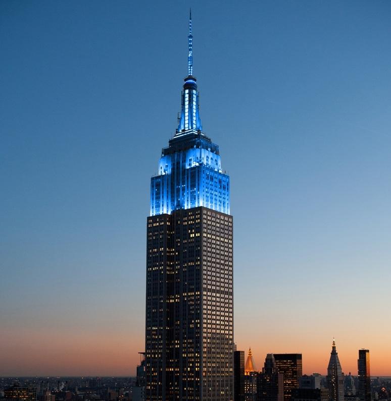 Toà Nhà Empire State Building Làm Bằng Thép