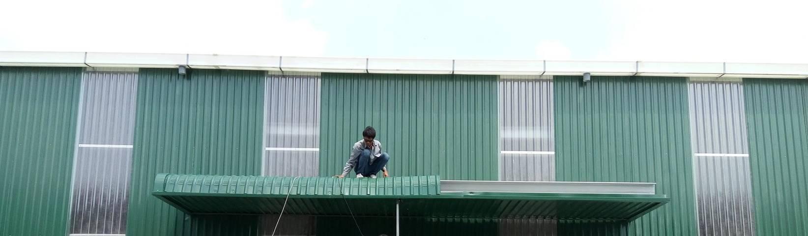 Canopy nhà xưởng