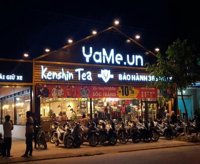 Cửa hàng thép tiền chế Yame