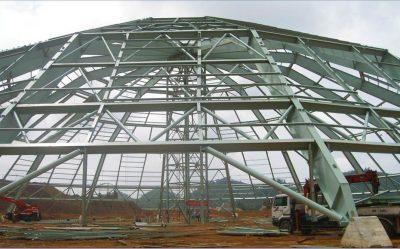lắp đặt công trình nhà thép tiền chế zamil