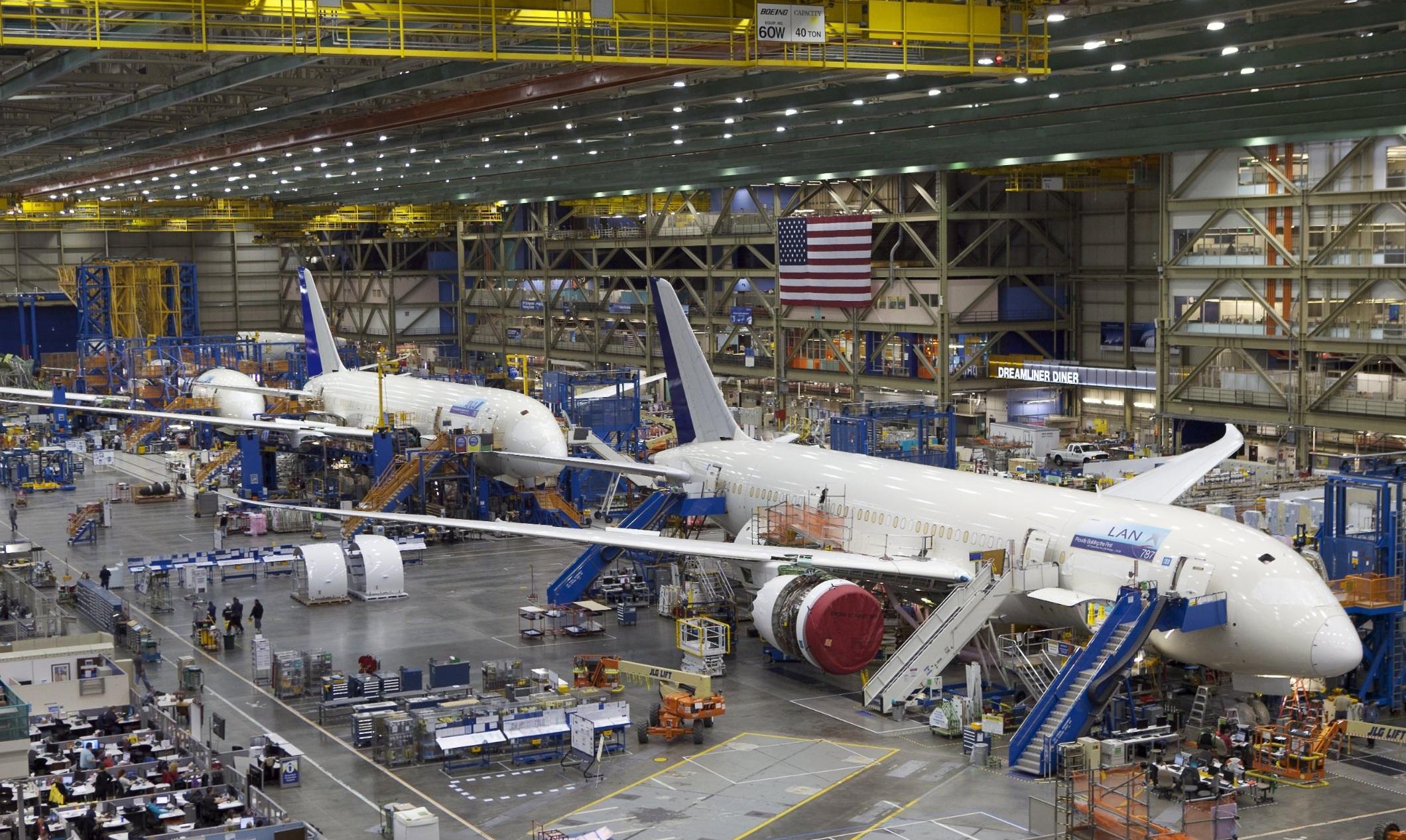 Xưởng Sản Xuất Boeing Mỹ